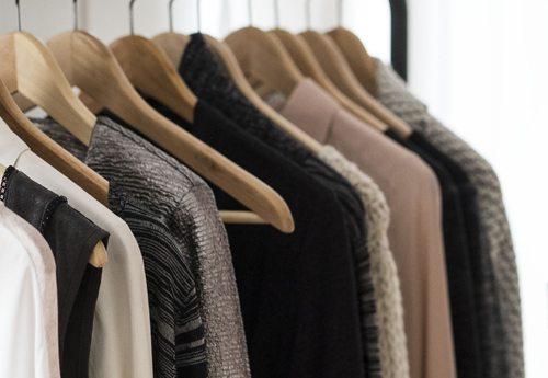 Garderobe Arrangement