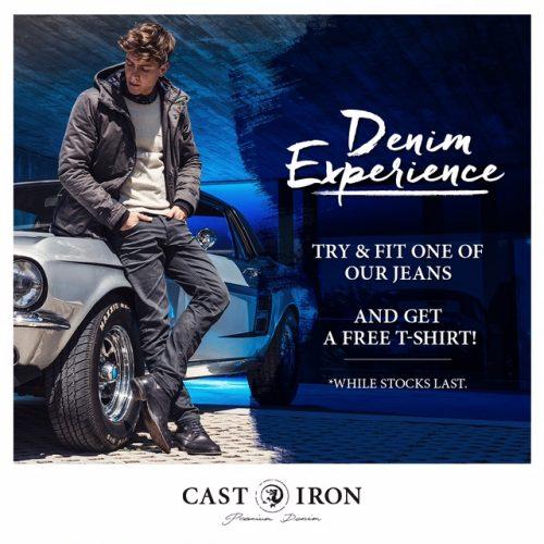 18 maart: Cast Iron Denim Experience