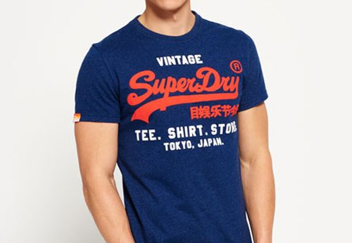 Fijne shirts en shorts van Superdry!