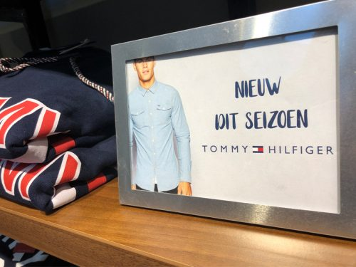 Nieuw merk op de Men's Floor
