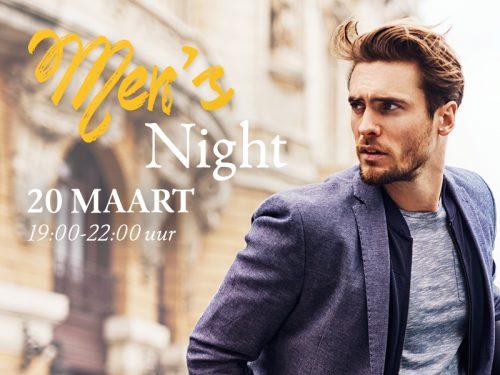 20 maart: de eerste Men's Night!