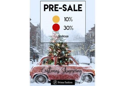 Christmas Shopping – korting op geselecteerde items!