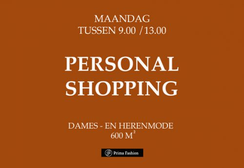 Personal Shopping!